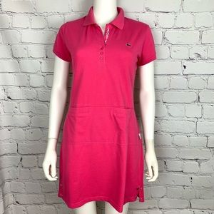 Lacoste Michael Young Women's Polo Dress Pink